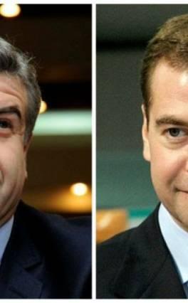 Կարեն Կարապետյանն ու Դմիտրի Մեդվեդևը հեռախոսազրույց են ունեցել