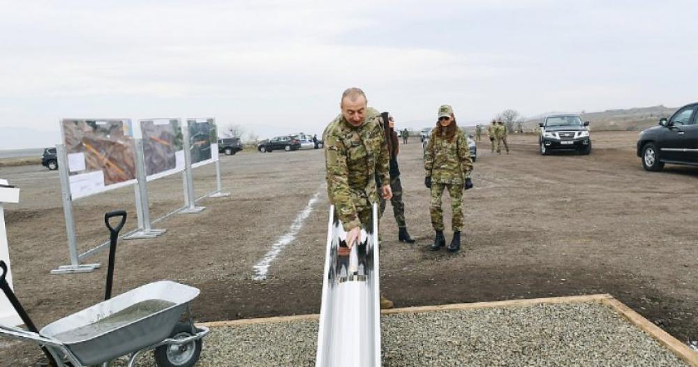 Բաքուն կառուցում է երկու միջազգային օդանավակայաններ..Ֆիզուլիի և Զանգելանի միջազգային օդանավակայանները կառուցվում են Իրանի դեմ հարձակման համար
