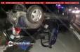 Խոշոր ավտովթար Գեղարքունիքի մարզում. 30-ամյա վարորդը Opel-ով գլխիվայր շրջվել է, կան վիրավորներ