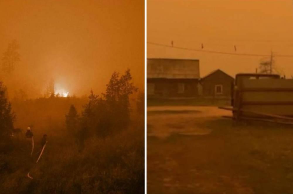 Տեսանյութ.Յակուտիայում անտառային հրդեհների հետևանքով օրը ցերեկով արևն «անհետացել» է, ամեն ինչ պատված է սև ծխով, իսկ երկնքից մոխիր է թափվում