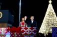 Թրամփը եւ ԱՄՆ-ի առաջին տիկինը մասնակցել են Սուրբծննդյան եղեւնու լույսերը վառելու արարողությանը