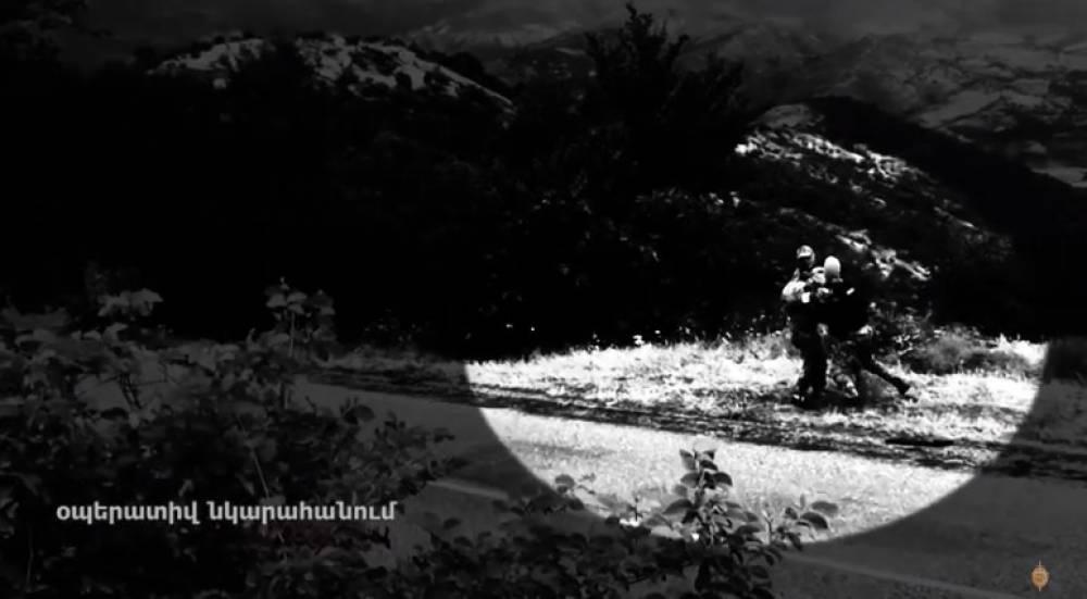 Տեսանյութ.Հայաստանում ադրբեջանցի է կալանավորվել