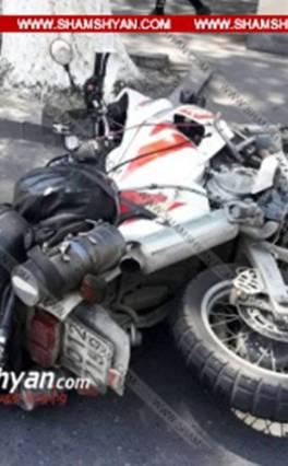 Երևանում բախվել են Սամվել Ալեքսանյանի Opel-ն ու Միքելե Պլաչիդոյի Yamaha մոտոցիկլը. հետաքննությունը վարում է «Շերլոկ Հոմս» մականվամբ ՃՈ ավագ հետաքննիչը