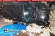 Երեւանում 40-ամյա վարորդը BMW X5-ով բախվել է երկաթե ցանկապատերին, փլուզել քարե պարիսպն ու կողաշրջվել. նա մահացել է