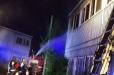 Գյումրիում երկհարկանի տուն է հրդեհվել. Բարդության «թիվ 2» կանչ դեպքի վայր է մեկնել 5 մարտական հաշվարկ