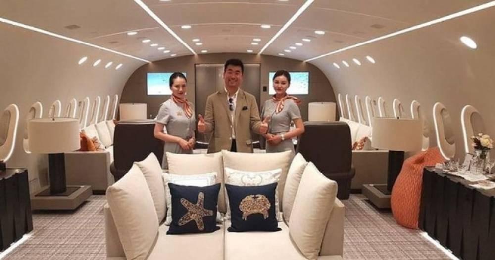 Ինչպիսին է աշխարհի ամենաթանկարժեք մասնավոր Boeing օդանավը ներսից