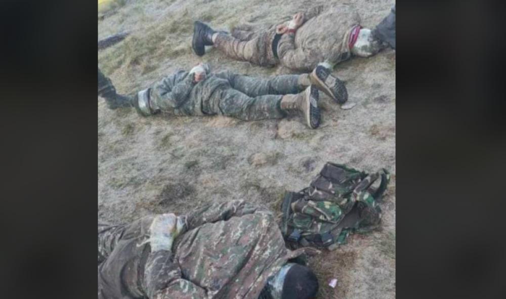 Թշնամին հրապարակել է այսօր վաղ առավոտյան Գեղարքունիքից գերեվարված 6 հայ զինծառայողների լուսանկարները