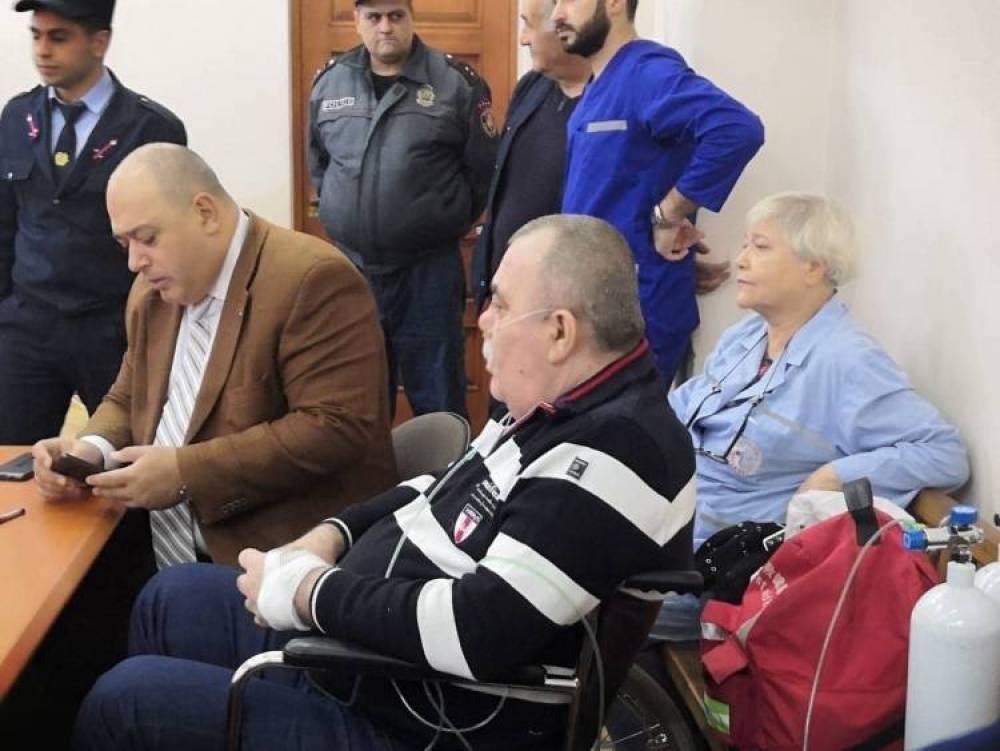 Մանվել Գրիգորյանը դատարանում հազիվ է խոսում  (տեսանյութ)