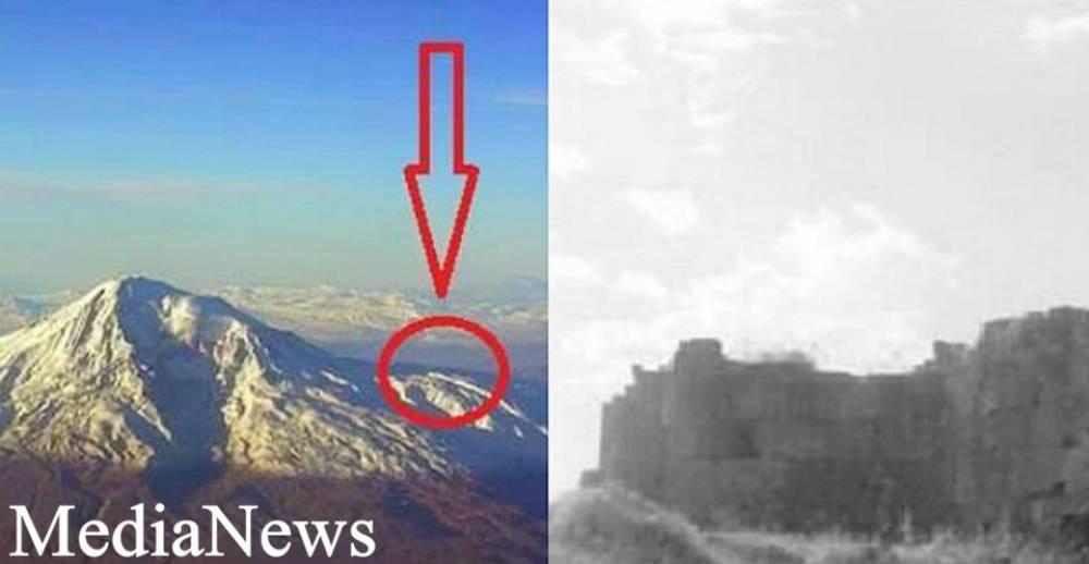 Քչերը գիտեն, որ Արարատ լեռան լանջին, կանգնած են 5-րդ դարի հայկական եկեղեցու ավերակները
