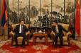 Վահե Էնֆիաջյանը և պատգամավոր Ջանիբեկ Հայրապետյանը հանդիպել են ՀՀ-ում Չինաստանի դեսպանի հետ