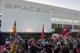 Հայերը SpaceX-ի կենտրոնակայանի դիմաց ցույցով պահանջել են չեղարկել Թուրքիայի հետ գործարքը