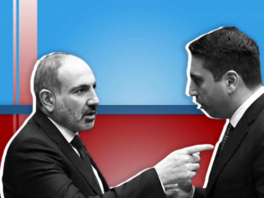 Փաշինյանը անսպասելի «առողջական խնդիրների» պատճառով կհեռանա և վարչապետ կդառնա Ալեն Սիմոնյանը