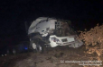 Իրանցու ավտոցիստեռնը գլորվել է ձորը Մեղրի-Կապան ավտոճանապարհին. վարորդը հոսպիտալացվել է