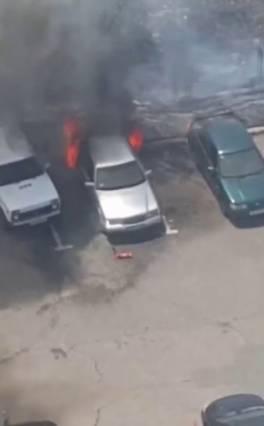 Աշտարակ քաղաքում այրվում են ավտոմեքենաներ․ ԱԻՆ