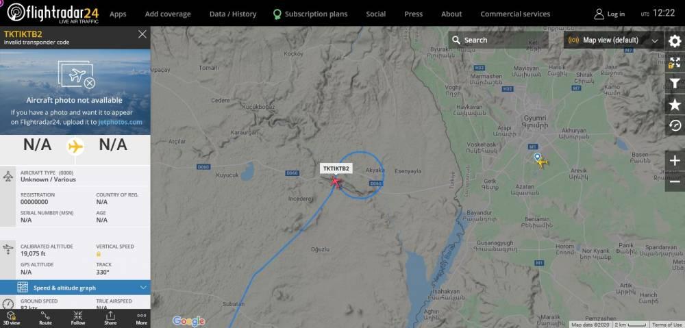 Ինչ գործ ունի Թուրքական Bayraktar TB-2 մարտական անօդաչուն Գյումրիի Շիրակի օդանավակայանի մերձակայքում