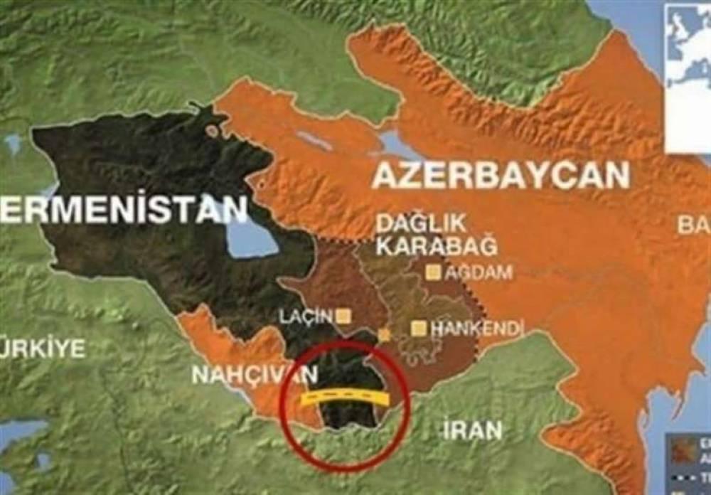 Իրանը կտրականապես  դեմ  է «զանգեզուրյան միջանցքի» բացմանը.այն կամրապնդի Թուրքիայի դիրքերը ,  սպառնալիք կլինի  նաև Ռուսաստանի և Չինաստանի համար